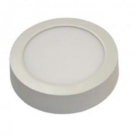 Downlight led superficie redondo 12W luz blanca