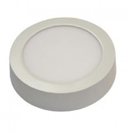 Downlight led superficie redondo 18W luz neutra