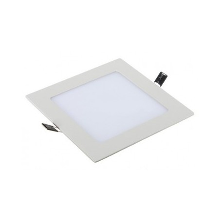 Downlight led slim cuadrado 18W luz cálida