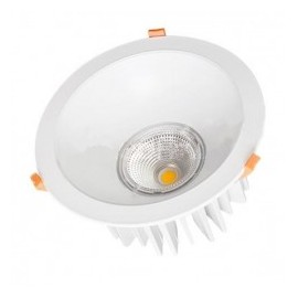 Downlight led empotrable redondo 35W COB luz blanca